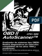 Auto Escaner OBDII