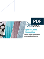 11 TRENZA METAL-GEOSILEX Aditivo Para Hormigones Depuradores de Aire