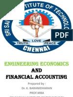 Shift in Demand and Supply Curves - - B.E (CS/IT) - EE&FA/C - DR.K.BARANIDHARAN, SRI SAIRAM INSTITUTE OF TECHNOLOGY, CHENNAI