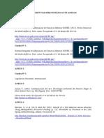 Referencias Bibliográficas de Anexos