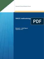 Draft Report WACC Methodology