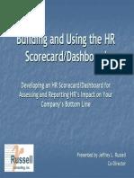 Developing Hr Scorecard to Assess Hr Impact on Bottom Line