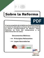 Sobre La Reforma Educativa 2011
