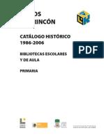 Primaria p Catalogo Historico Pel.
