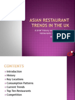 Restaurant Trends in the Uk