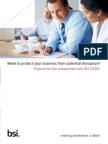 Bsi Iso22301 Product Guide UK