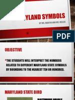 maryland symbols - rounding