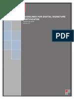 Guidelines for Dsc