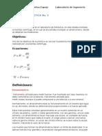 Reporte de Practica No3 Lab. Termodinamica