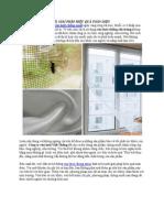 Giải Pháp Hiệu Quả Toàn Diện Với Cửa Lưới Chống Muỗi