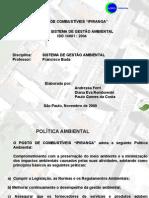 SGA - ISO 14001 , POSTO DE COMBUSTIVEL