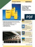 Enerpac CLSG Series Catalog