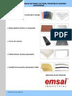 Emsai Catalog Materiale Dw