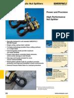 Enerpac NS Series Catalog
