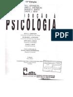 Cap 1 Introduçao a Psicologia - Atkinson