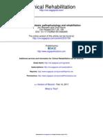 Cerebellar Ataxia Pathophysiology and Rehabilitation