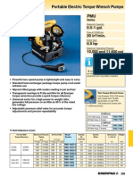 Enerpac PMU Series Catalog