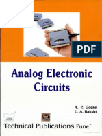 Analog Electronic Circuits