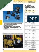 Enerpac Pump Mounted Valves Catalog