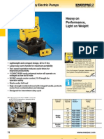 Enerpac PU Series Catalog