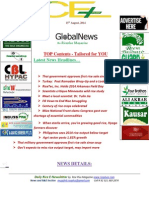 15th August,2014 Daily Global Rice E-Newsletter by Riceplus Magazine