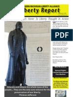 Liberty Report, Dec. 2009--Northern Michigan Liberty Alliance