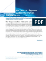 March 2012 Impact of Contract Type