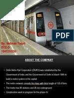 delhi metro presentation