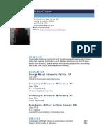 shane casey resume 2014