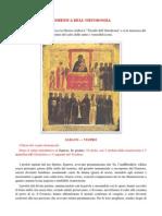 Domenica Dell'Ortodossia