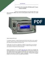 2009 2010 DVD Carro Sistema de Navegação GPS Bluetooth TV Para Subaru Outback