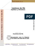 caminos de ifa oyekun y omoluos