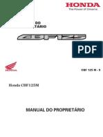Manual Cbf 125