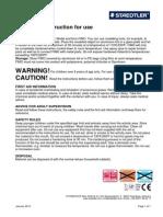 STAEDTLER FIMO Instructions for Use EU