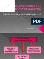 Topic 11 Audit of Payroll & Personnel Cycle (1)