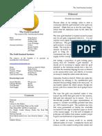 The Gold Standard Journal 9