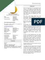 The Gold Standard Journal 26