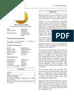 The Gold Standard Journal 30