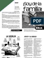 Soy de La Familia - Cuaderno 1 - Biblia