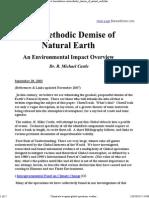 Dr Castle Demise of Natural Earth