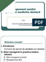PPT C6 Management Sanitar Stomatologic