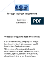 Foreign Indirect Investment PPT