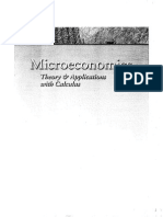 Microeconomics Theory and Applications With Calculus