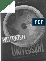 Paul Alfred Müller - Welträtsel Universum-1949