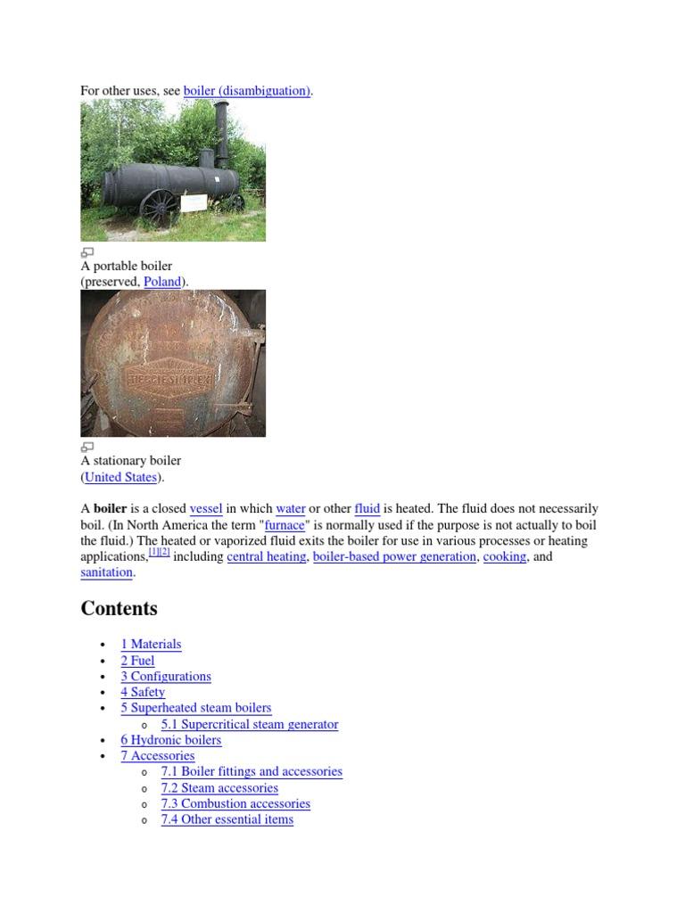 Boiler | Boiler | Steam Locomotive