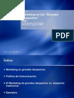 Xavier Miravalls Marketing en Un Gran Despacho