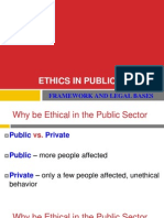 Ethics in Public Sector_Framework and Legal Bases