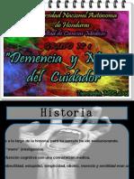 ROBERTO CARLOS TURCIOS, DEMENCIA