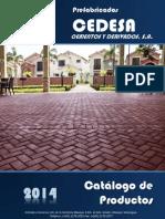 Catalogo Cedesa Año 2014