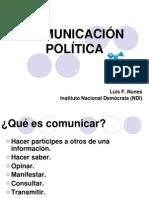 Comunicación Politica